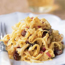 Curried Celeriac Slaw with Dried Cherries