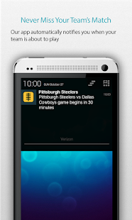 Pittsburgh Football Alarm - screenshot