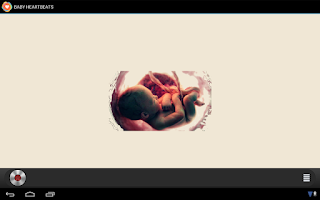Screenshot of Baby Heartbeats Lite