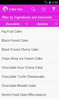 Screenshot of 1300 Cake Recipes
