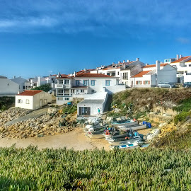 Baleal, Portugal by RC Reis - City,  Street & Park  Vistas ( praia, baleal, beach )