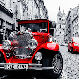 ford. old vs new by Marius Ciocan - Transportation Automobiles