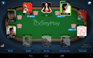 Screenshot of myPlay - Game Bai - Game Co