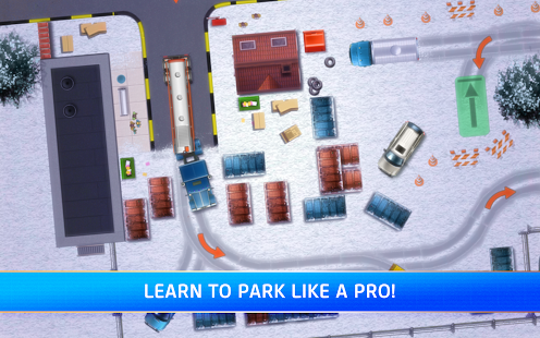 APK Game Parking Mania for BB, BlackBerry
