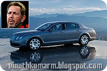 Larry Ellison - $16 billion – Bentley Continental Flying Spur_Billionaires Car