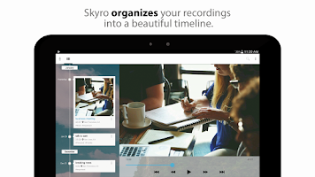 Screenshot of Skyro Voice Recorder
