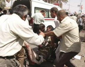 Kirkuk-Kurdistan Suicide Explosion kerkuk itc turkey iraq