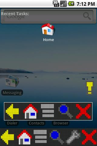 SoftKeys RetroPixel Theme