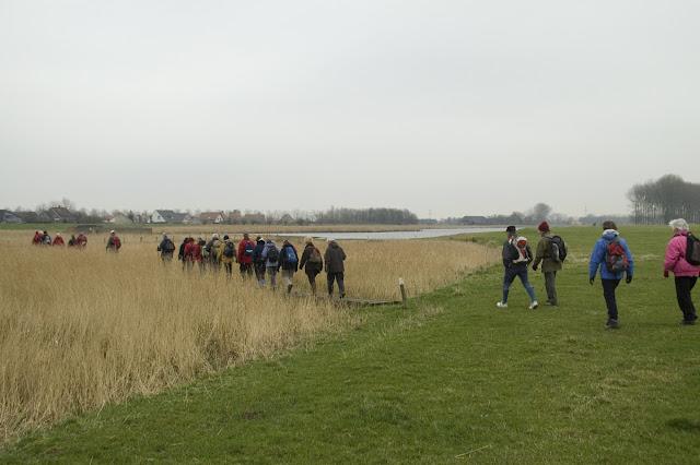 Photo of Oostburg 2 (Nl), Het Grote Gat, dijken en polders