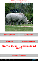 Screenshot of Zoo Alphabet (adfree)