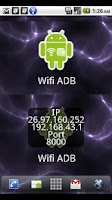 Screenshot of ADB over WIFI Widget