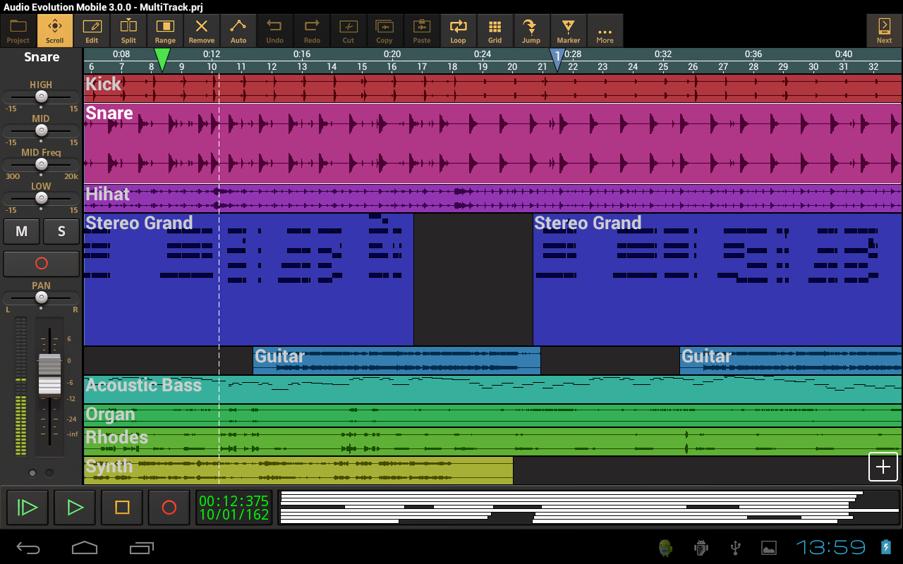 Audio Evolution Mobile Studio Screenshot 8