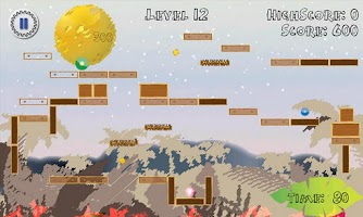 Screenshot of Bluphys - Physics Game