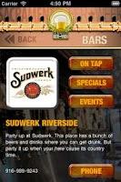 Screenshot of BeerHapps