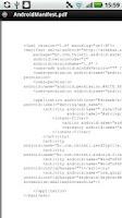 Screenshot of XML to PDF