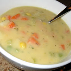 Ian's Potato-Vegetable Soup