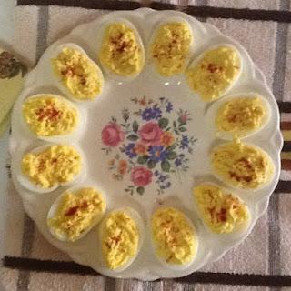 Deviled Eggs With Relish Vinegar Recipes
