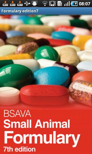 BSAVA Formulary 7th Edition