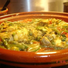 Tajine Msir Zeetoon - Moroccan Chicken With Lemons