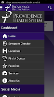 Screenshot of Providence Health System