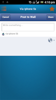 Screenshot of Status Via - SmartApps