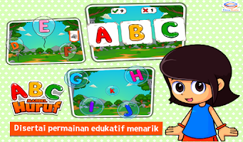 Screenshot of Marbel Belajar Huruf