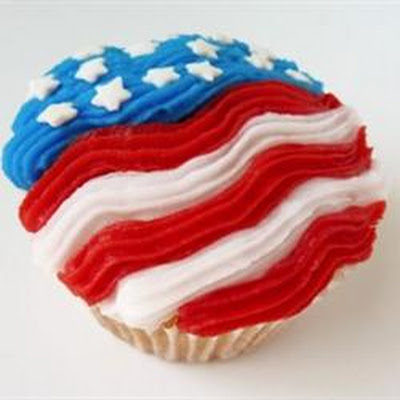 4th of July Star Cupcakes