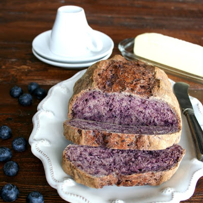 Artisan Blueberry Bread