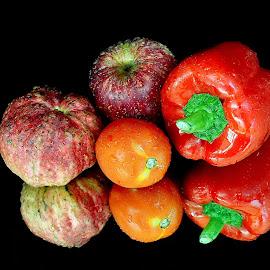 Fruit Vs. veg by Asif Bora - Food & Drink Fruits & Vegetables