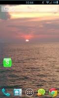 Screenshot of Green W Socialize for Facebook