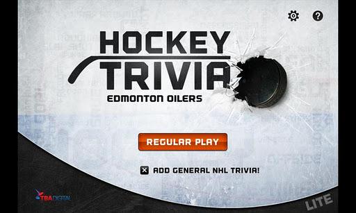 Hockey Trivia Lite-Oilers