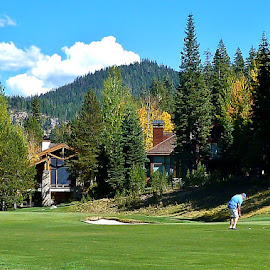 Squaw Valley Golf Day by Samantha Linn - Sports & Fitness Golf