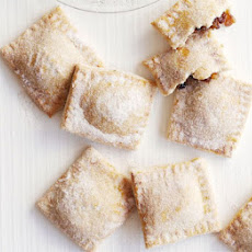 Sugar-dusted Mince Pie Parcels