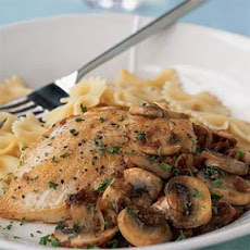 Chicken with Sun-Dried Tomato-Mushroom Sauce