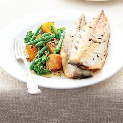 Butternut & Broccoli Super Salad With Mackerel