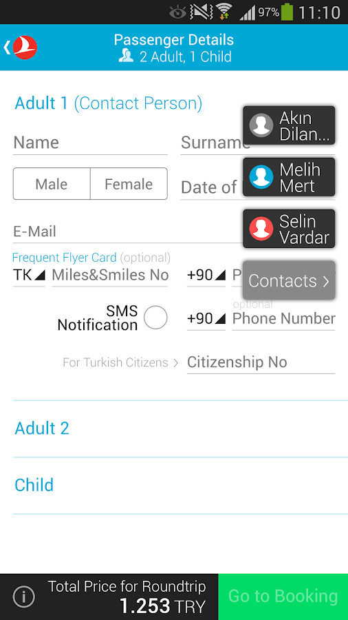 Turkish Airlines Screenshot 7
