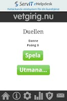 Screenshot of Vetgirig Duellen