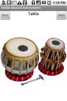 Screenshot of Indian Musical Instruments