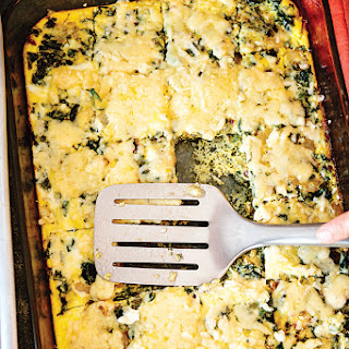 Bacon, Spinach, and Fromage Blanc Frittata