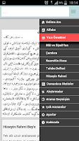 Screenshot of Turkish Ottoman Dictionary