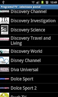Screenshot of Program TV
