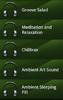 Screenshot of Relaxing Music
