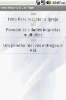 Screenshot of Meu Hinário NC Offline