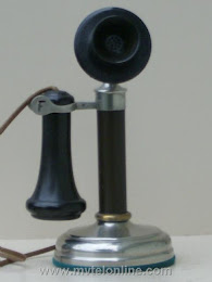Candlestick Phones - Kellogg Frontier Tel Co. Candlestick Telephone 1