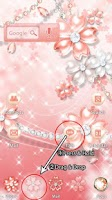 Screenshot of [AL] Pink Cherry Blossom Theme