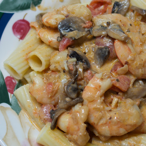 Shrimp Marsala