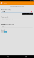 Screenshot of Cardio Fitness Workout