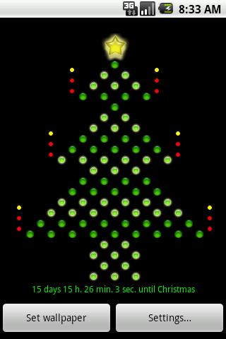 Led Xmas Tree LWP simple