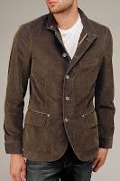 Rinsed Corduroy Field Jacket