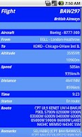 Screenshot of VMM Vatsim Mobile Viewer